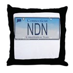 Connecticut NDN Throw Pillow