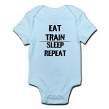 EAT TRAIN SLEEP REPEAT Body Suit