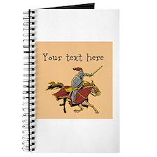 Customizable Knight on Horse Journal