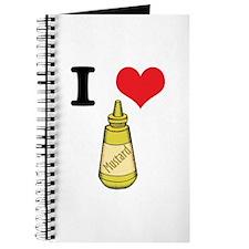 I Heart (Love) Mustard Journal