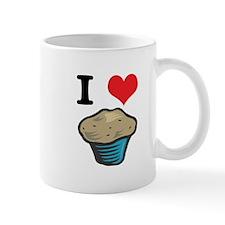 I Heart (Love) Muffins Coffee Mug