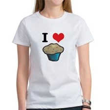 I Heart (Love) Muffins Tee