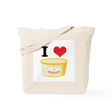 I Heart (Love) Margarine Tote Bag