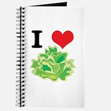 I Heart (Love) Lettuce Journal