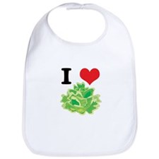 I Heart (Love) Lettuce Bib