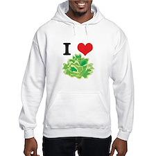 I Heart (Love) Lettuce Hoodie