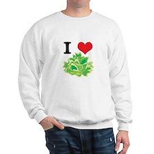 I Heart (Love) Lettuce Sweatshirt