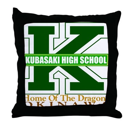 Big K Throw Pillow