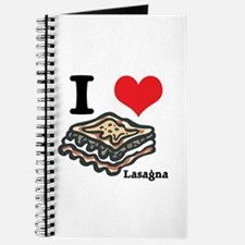 I Heart (Love) Lasagna Journal