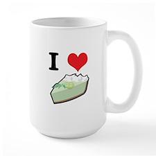 I Heart (Love) Key Lime Pie Mug