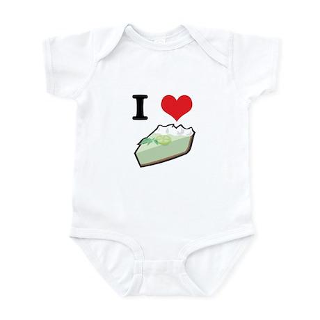 I Heart (Love) Key Lime Pie Infant Bodysuit