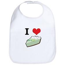 I Heart (Love) Key Lime Pie Bib