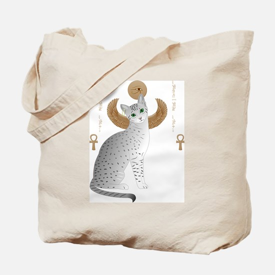 Cute Egyptian mau Tote Bag