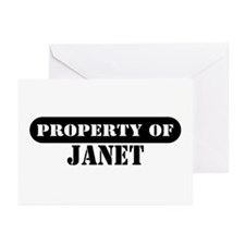 Property of Janet Greeting Cards (Pk of 10)