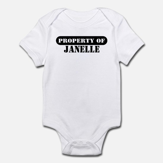 Property of Janelle Infant Bodysuit