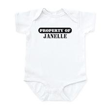 Property of Janelle Onesie