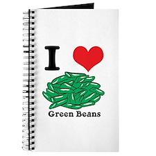 I Heart (Love) Green Beans Journal