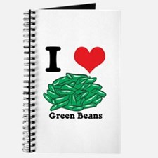 I Heart (Love) Green Beans Journal
