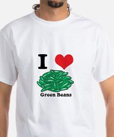 I Heart (Love) Green Beans Shirt