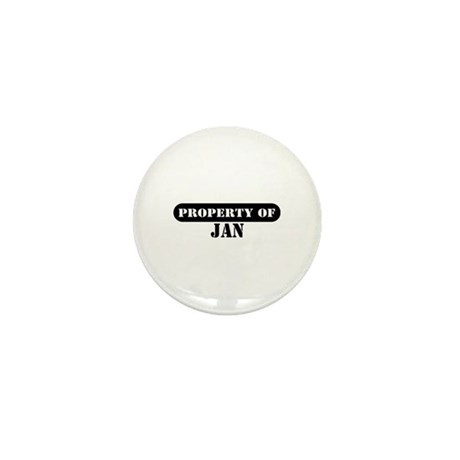 Property of Jan Mini Button (10 pack)