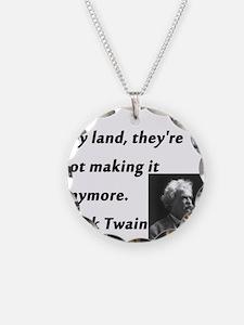 Buy Land Mark Twain Necklace