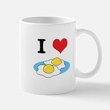 I Heart (Love) Fried Eggs Mug