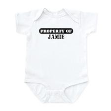 Property of Jamie Infant Bodysuit