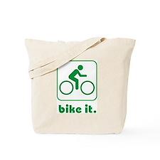 Bike It Tote Bag