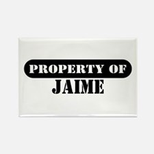 Property of Jaime Rectangle Magnet