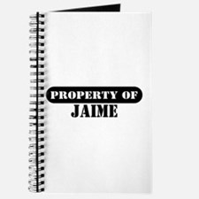 Property of Jaime Journal