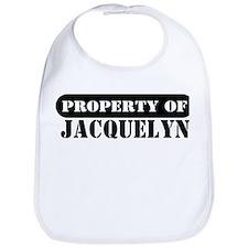 Property of Jacquelyn Bib