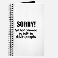 Mean People Journal