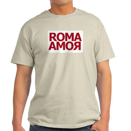 Roma Amor Red Ash Grey T-Shirt