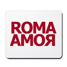 Roma Amor Red Mousepad