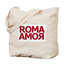 Roma Amor Red Tote Bag