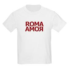 Roma Amor Red Kids T-Shirt