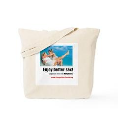 Tote Bag with Washington D.C. Ad