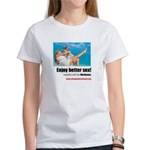 Women's T-Shirt with Washington D.C. Ads