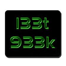 l33t 933k - Mousepad