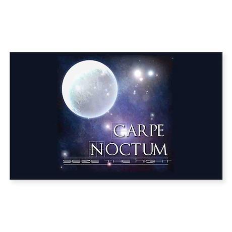 CARPE NOCTUM Rectangle Sticker