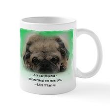 filhote de cachorro de Pug 2-sided Mug