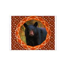 Geometric Bear 5'x7'Area Rug