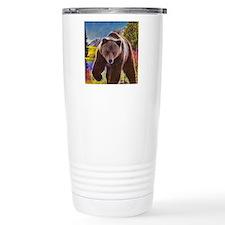 Grizzly Bear Territory Travel Mug