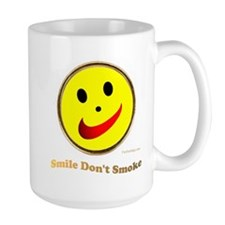 Smile Don't Smoke Mug