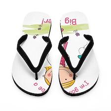 Big Sister to be Flip Flops
