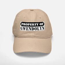 Property of Gwendolyn Baseball Baseball Cap