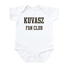 Kuvasz Fan Club Infant Bodysuit