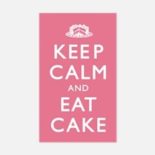 Keep Calm And Eat Cake Decal