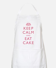 Keep Calm And Eat Cake Apron