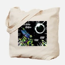 Dragonfly Eclipse_MS Tote Bag